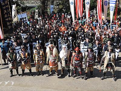 昨年の様子 昨年の様子 昨年の様子 昨年の様子  猿ヶ京温泉 上杉謙信武者行列|みなかみパーフェ