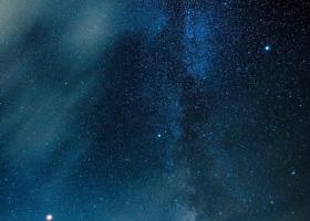 ユネスコエコパークの星空画像