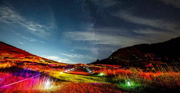 天空のナイトウォーキング画像