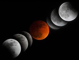 5月26日皆既月食ショー特別開催